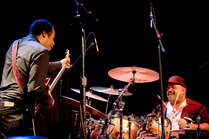 Stanley Clarke and Dennis Chambers 1